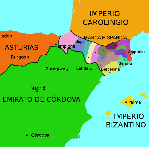 marca hispanica map
